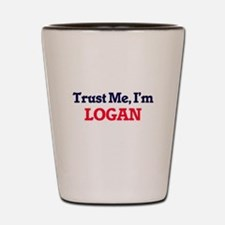 Trust Me, I'm Logan Shot Glass