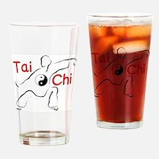 Cute Tai chi Drinking Glass