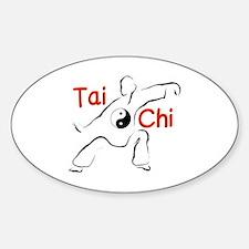 Cute Taoist Sticker (Oval)