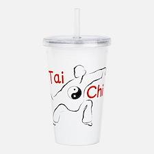 Tai Chi Acrylic Double-wall Tumbler