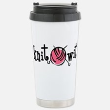 Knit Wit Travel Mug