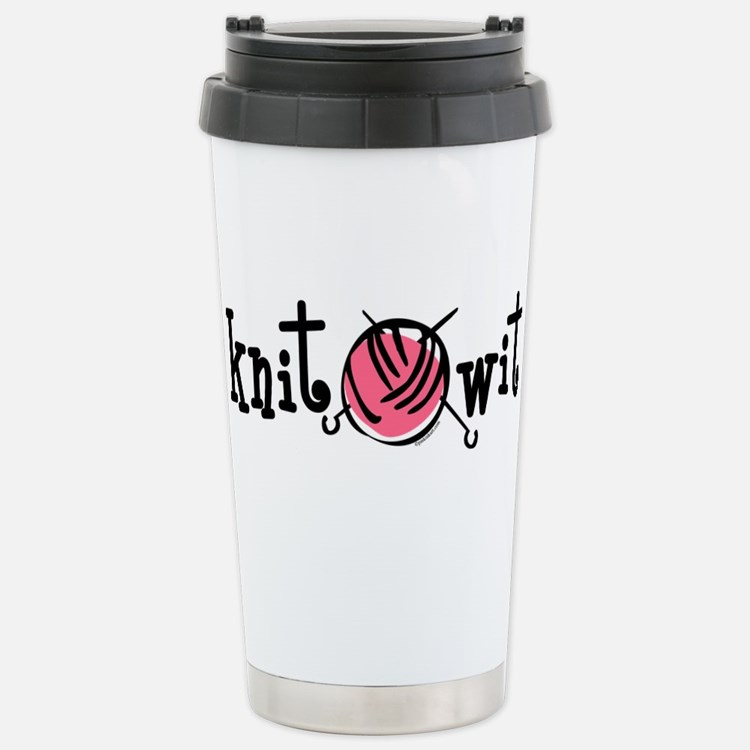 Knit Wit Travel Mug