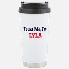 Trust Me, I'm Lyla Stainless Steel Travel Mug