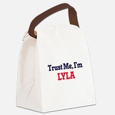 Trust Me, I'm Lyla Canvas Lunch Bag
