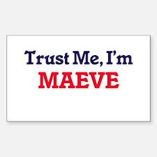 Trust Me, I'm Maeve Decal