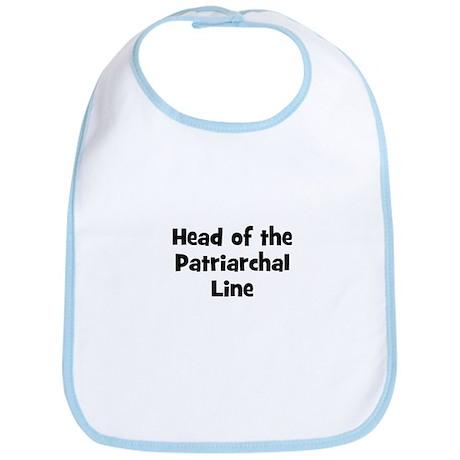 Head of the Patriarchal Line Bib