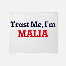 Trust Me, I'm Malia Throw Blanket