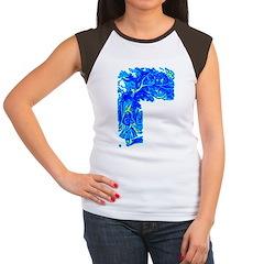 Alice & Cheshire #1 Women's Cap Sleeve T-Shirt