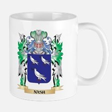 Nash Coat of Arms - Family Crest Mugs