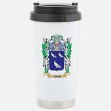 Nash Coat of Arms - Fam Stainless Steel Travel Mug
