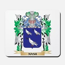 Nash Coat of Arms - Family Crest Mousepad