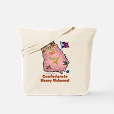 GA-Confederate! 1956- Tote Bag