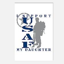 I Support Daughter 2 - USAF Postcards (Package of