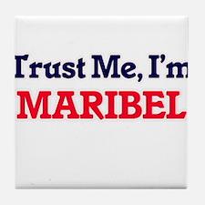 Trust Me, I'm Maribel Tile Coaster