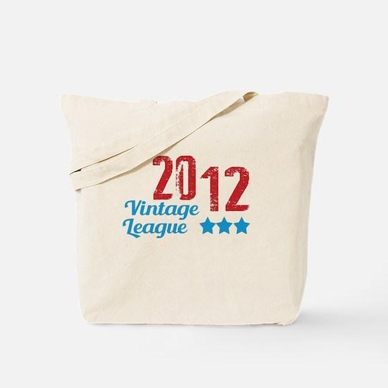 2012 Vintage League Tote Bag