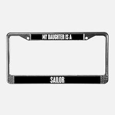 Sailor Daughter License Plate Frame