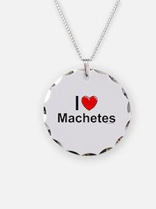 Machetes Necklace