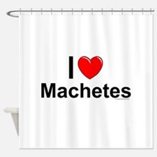 Machetes Shower Curtain