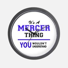 It's MERCER thing, you wouldn't underst Wall Clock
