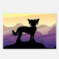 Chinese Crested Purple Mt. Postcards (Package of