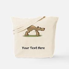 Bear Tiptoeing (Custom) Tote Bag