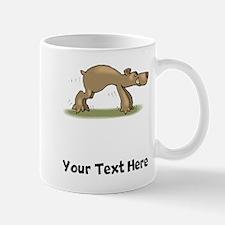 Bear Tiptoeing (Custom) Mugs