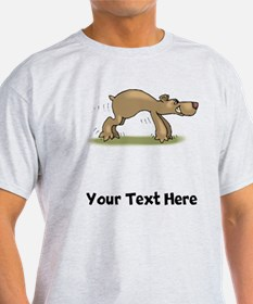 Bear Tiptoeing (Custom) T-Shirt