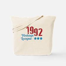 1992 Vintage League Tote Bag