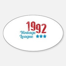 1992 Vintage League Decal