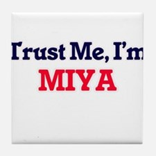 Trust Me, I'm Miya Tile Coaster