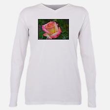 Rose Plus Size Long Sleeve Tee