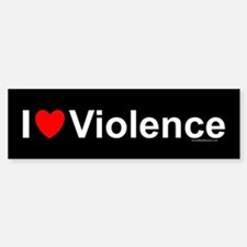 Violence Car Car Sticker
