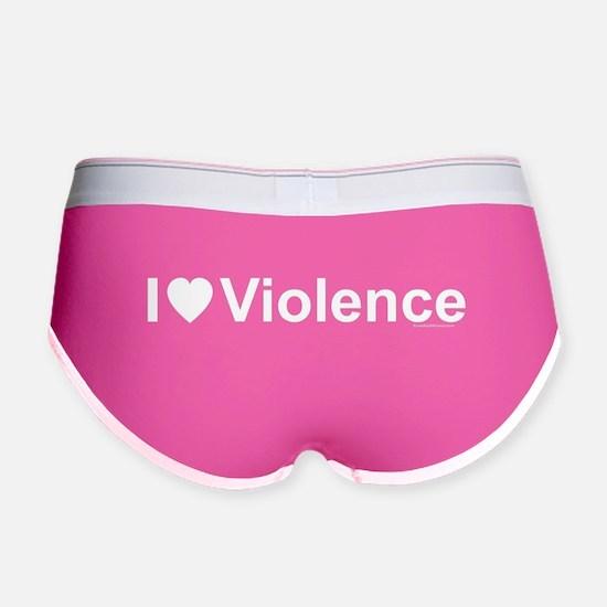 Violence Women's Boy Brief