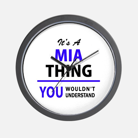 It's MIA thing, you wouldn't understand Wall Clock