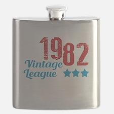 1982 Vintage League Flask