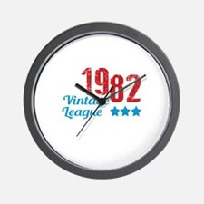1982 Vintage League Wall Clock