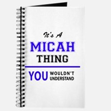 It's MICAH thing, you wouldn't understand Journal