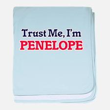 Trust Me, I'm Penelope baby blanket