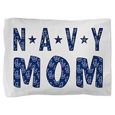 NAVY MOM Pillow Sham