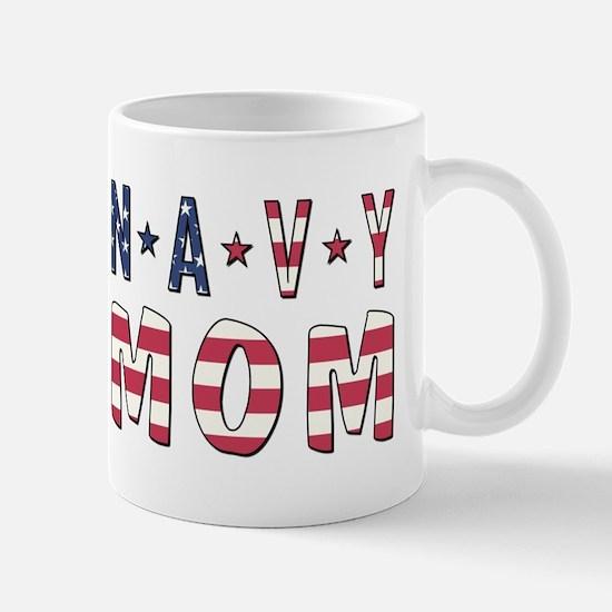 NAVY MOM Mugs