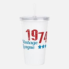 1974 Vintage League Acrylic Double-wall Tumbler