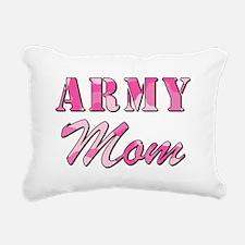 ARMY MOM Rectangular Canvas Pillow