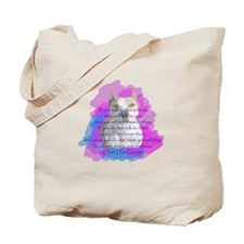 Chief - purple Tote Bag