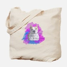 Chief - purple Tote Bag