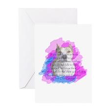 Chief - purple Greeting Card