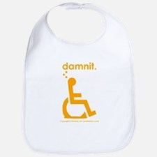 damnit.wheelchair Bib