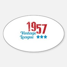 1957 Vintage League Decal