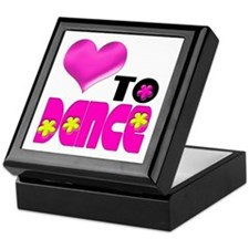 Love to Dance Keepsake Box