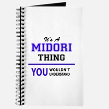 It's MIDORI thing, you wouldn't understand Journal