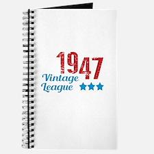1947 Vintage League Journal